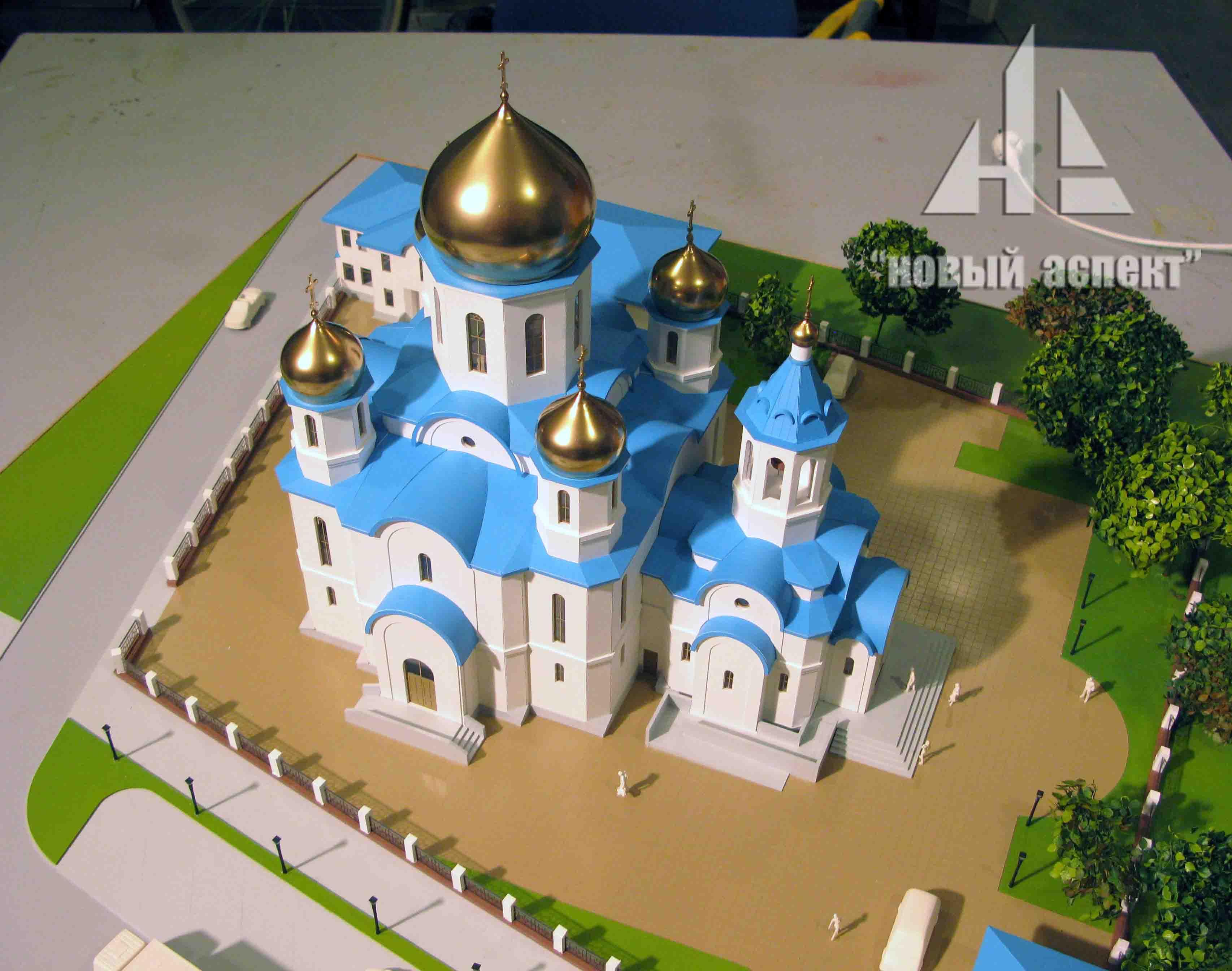 Макеты общественных зданий, Храм Крестовоздвижения 1