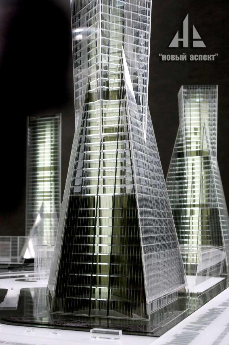 Макеты общественных зданий 1