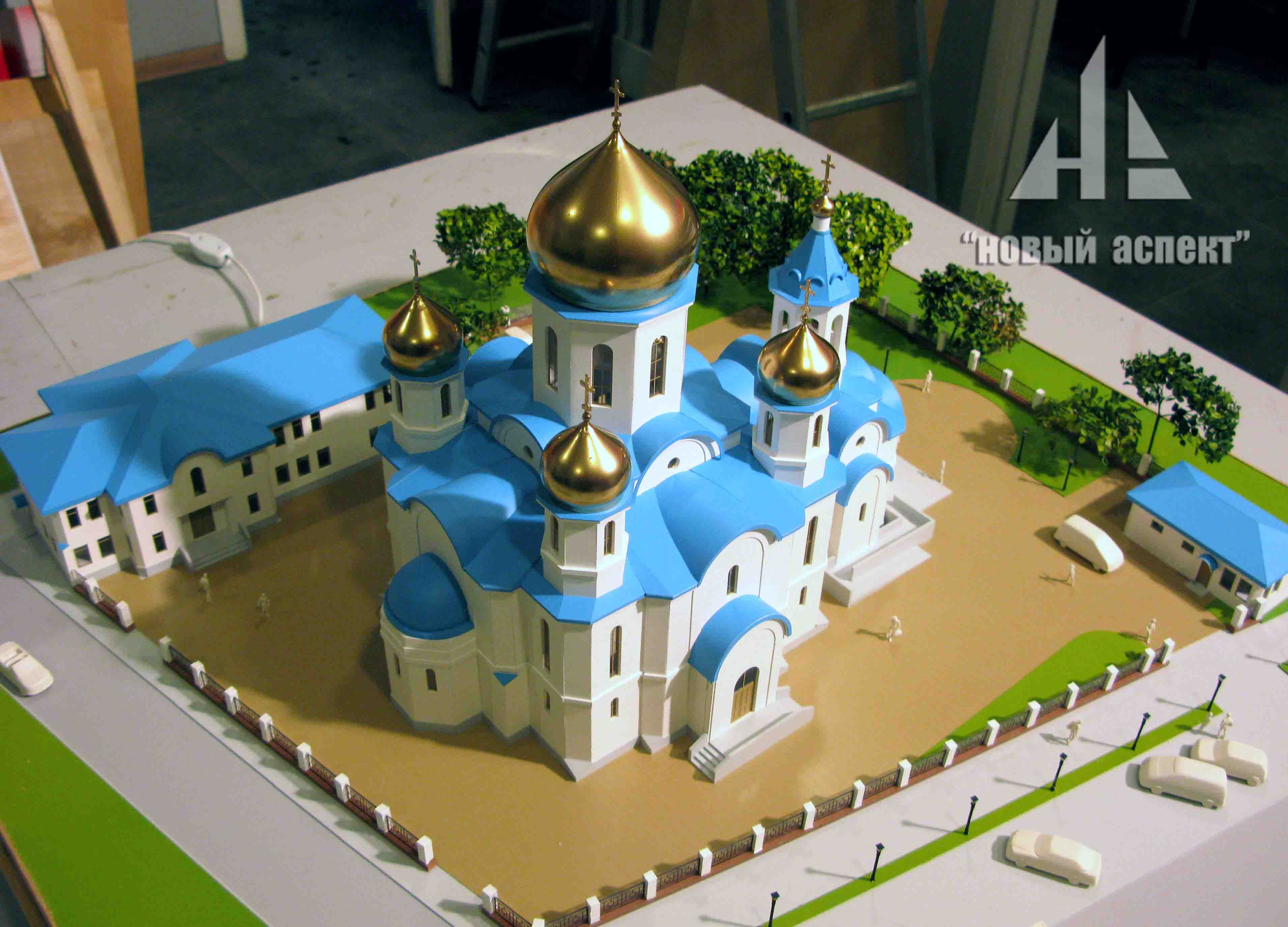 Макеты общественных зданий, Храм Крестовоздвижения 2