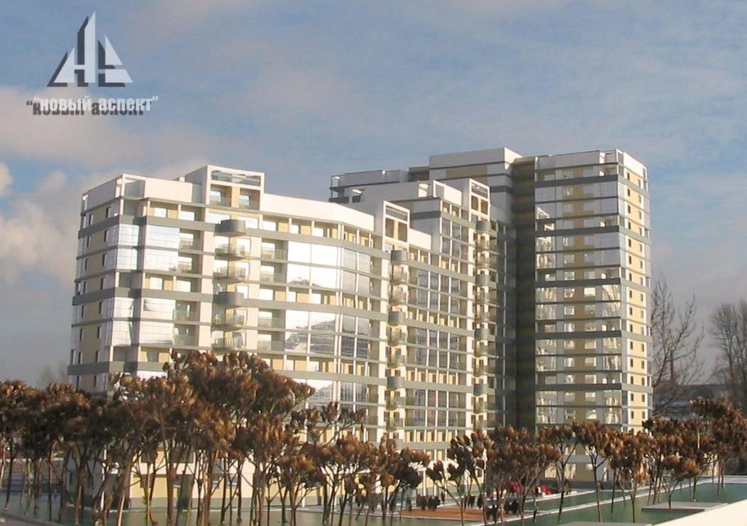 Макеты жилых домов и комплексов 2