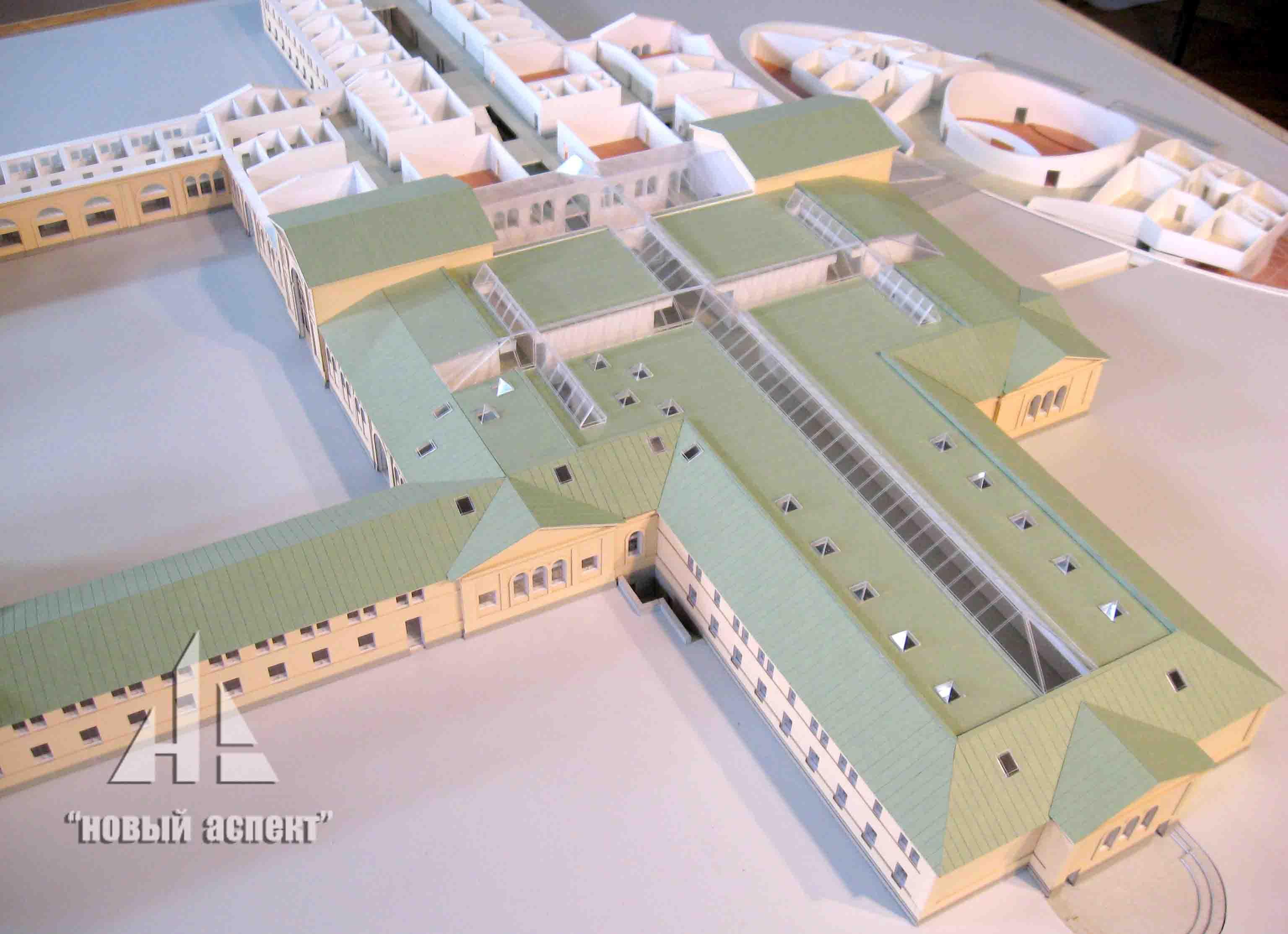Макеты общественных зданий 2
