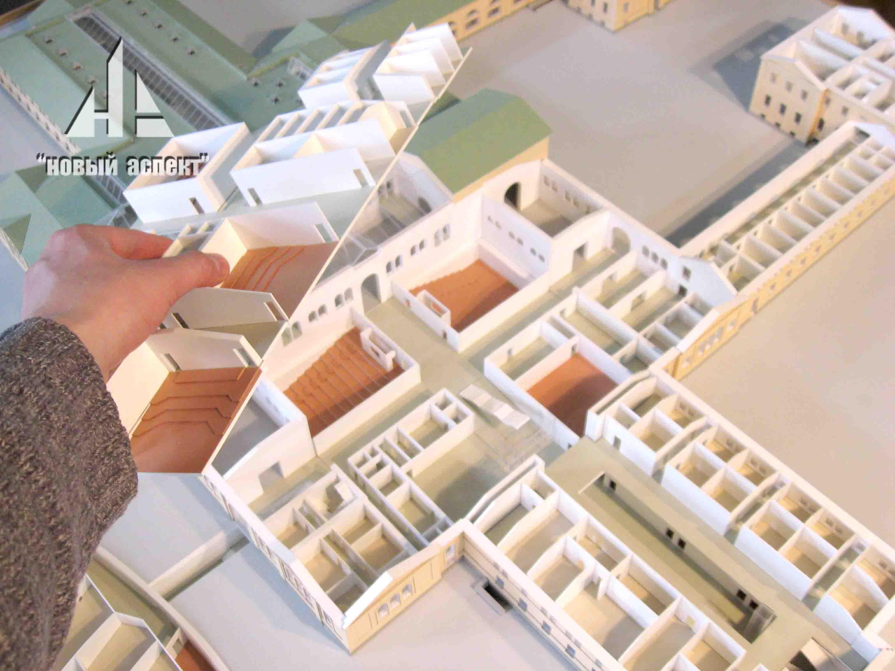 Макеты общественных зданий 3