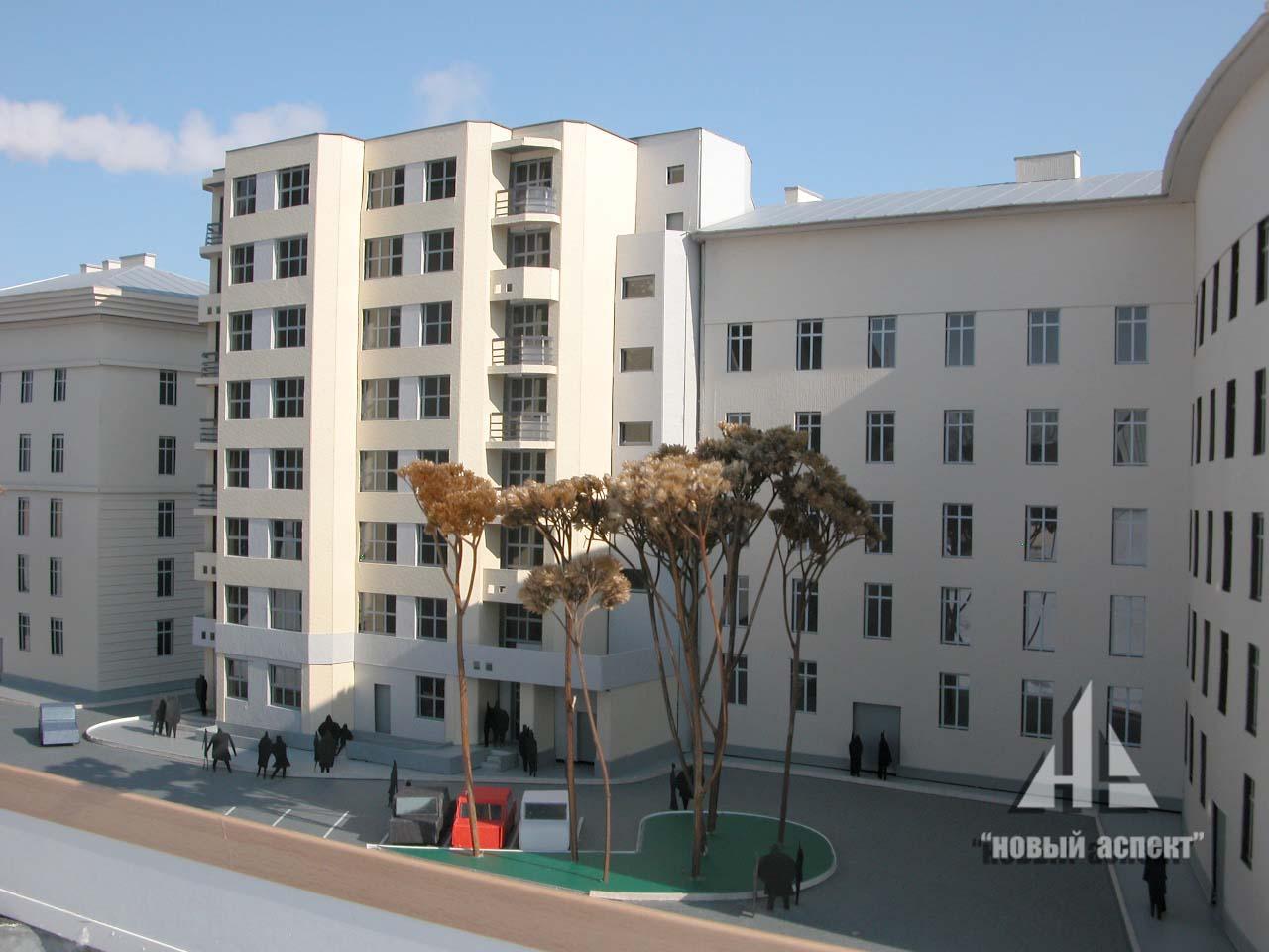 Макеты жилых домов и комплексов 3