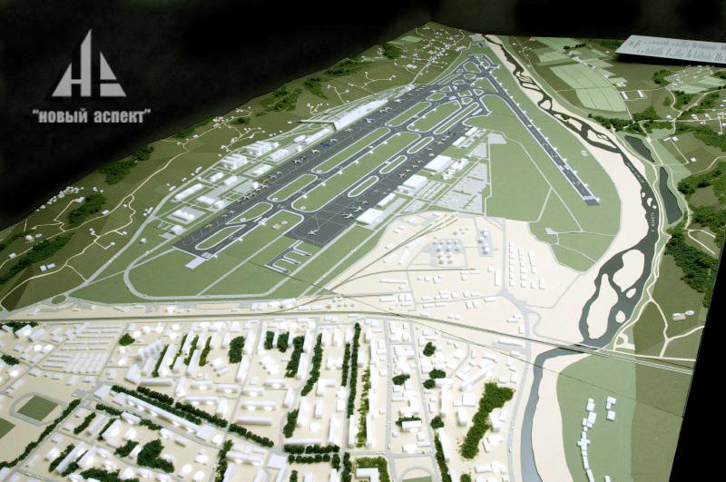 Градостроительные макеты, Аэропорт Адлер (3)