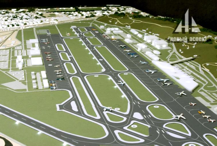 Градостроительные макеты, Аэропорт Адлер (4)