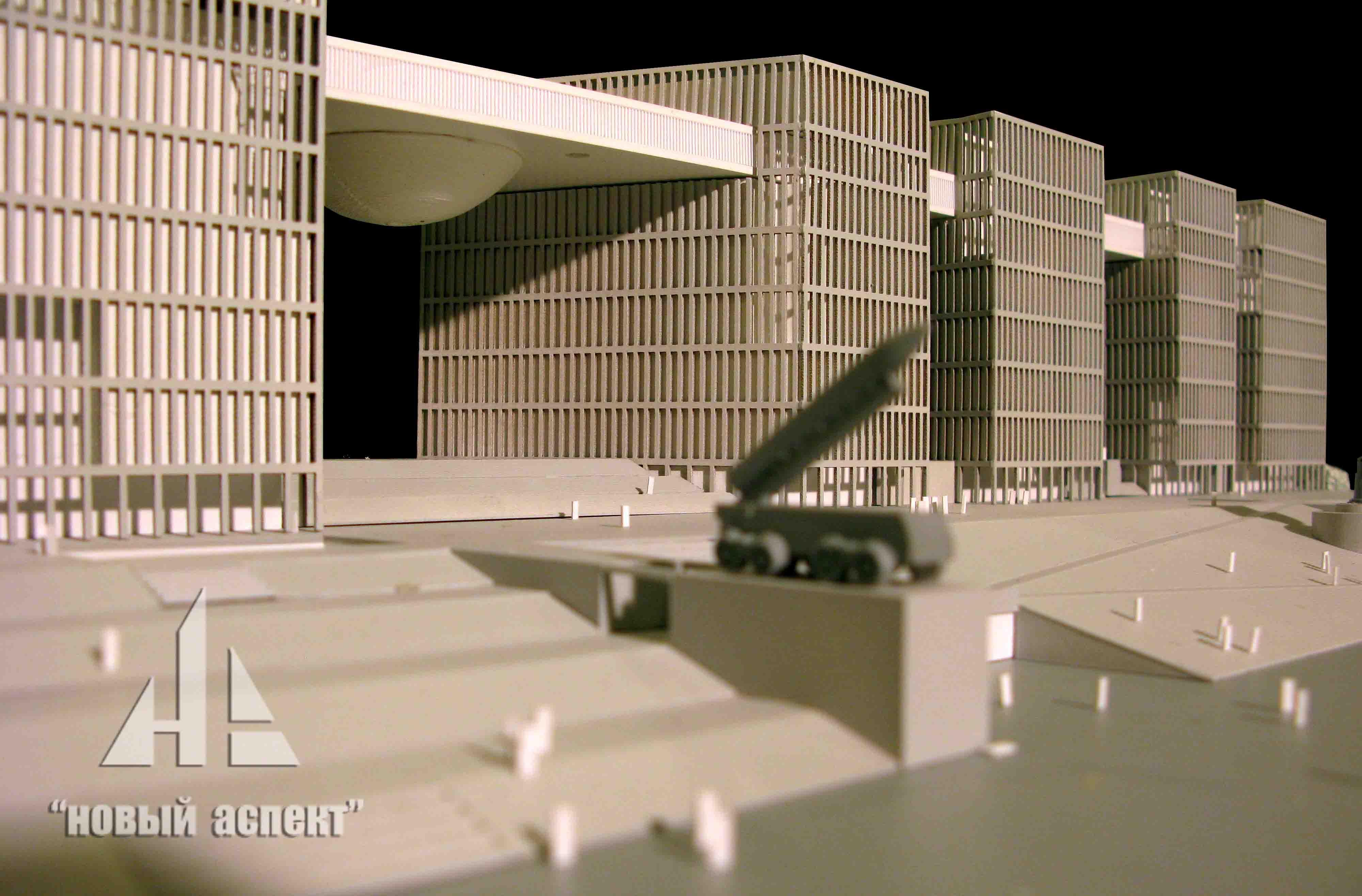 Макеты общественных зданий, АстанаМО (3)