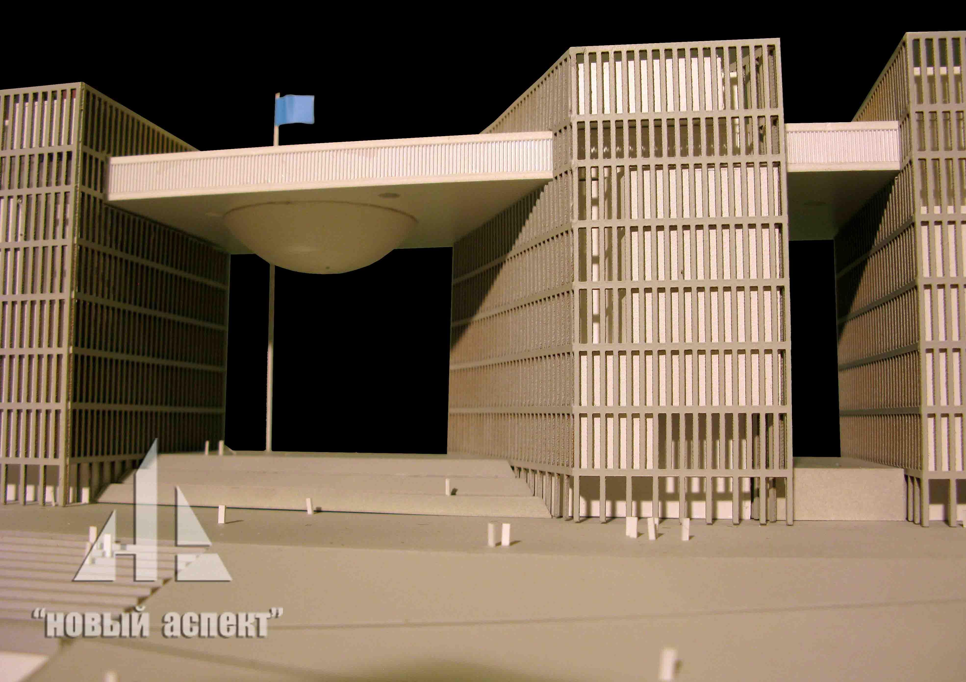 Макеты общественных зданий, Астана МО (5)