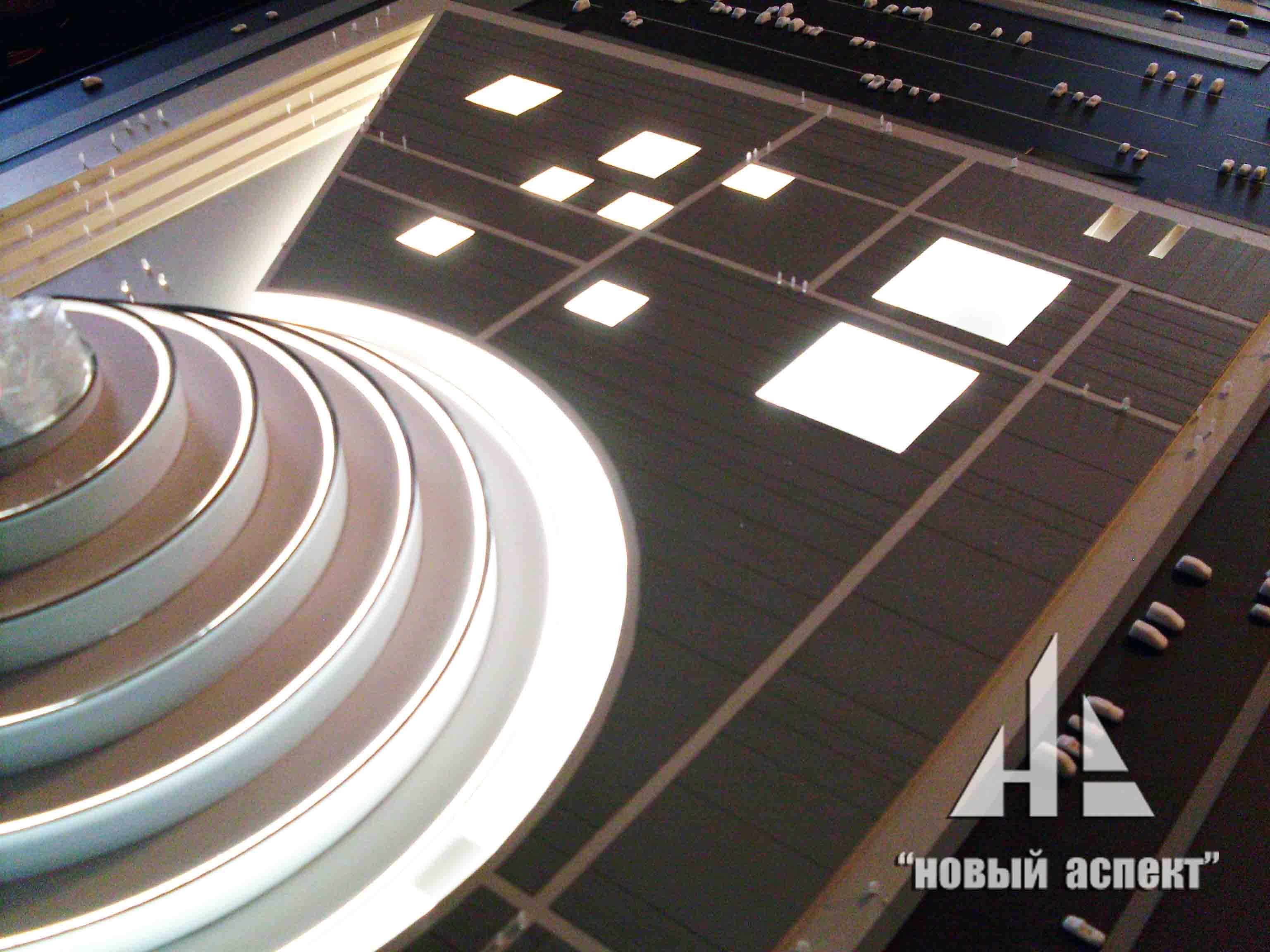 Макет по проекту Музея в г. Астана