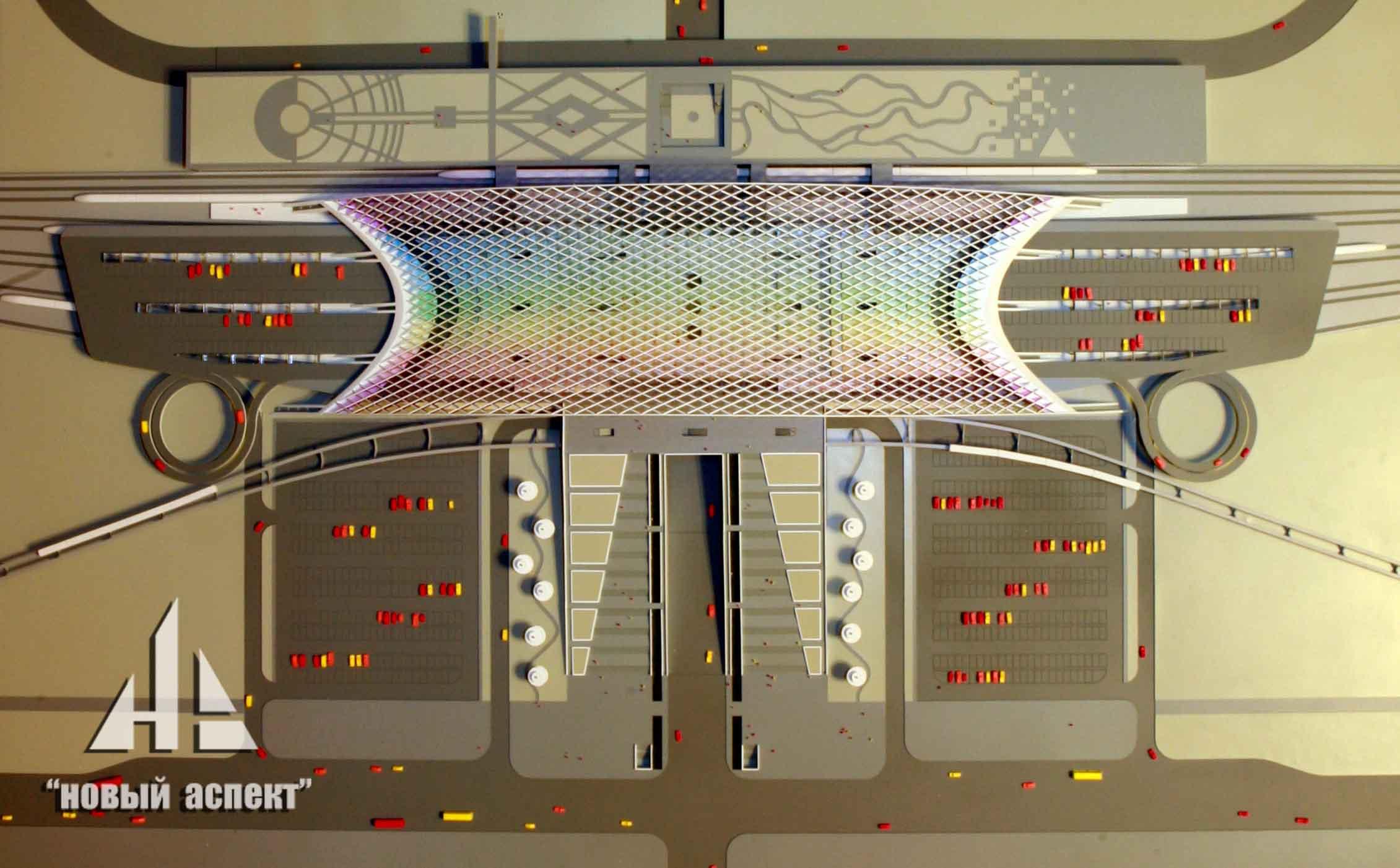 Макеты общественных зданий, Астана Вокзал (2)