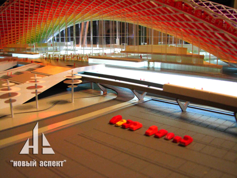 Макеты общественных зданий, Астана Вокзал (4)