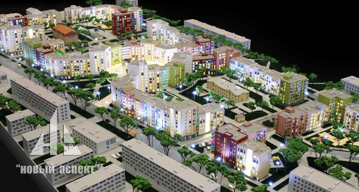 Макеты жилых домов и комплексов, Астрид (2)