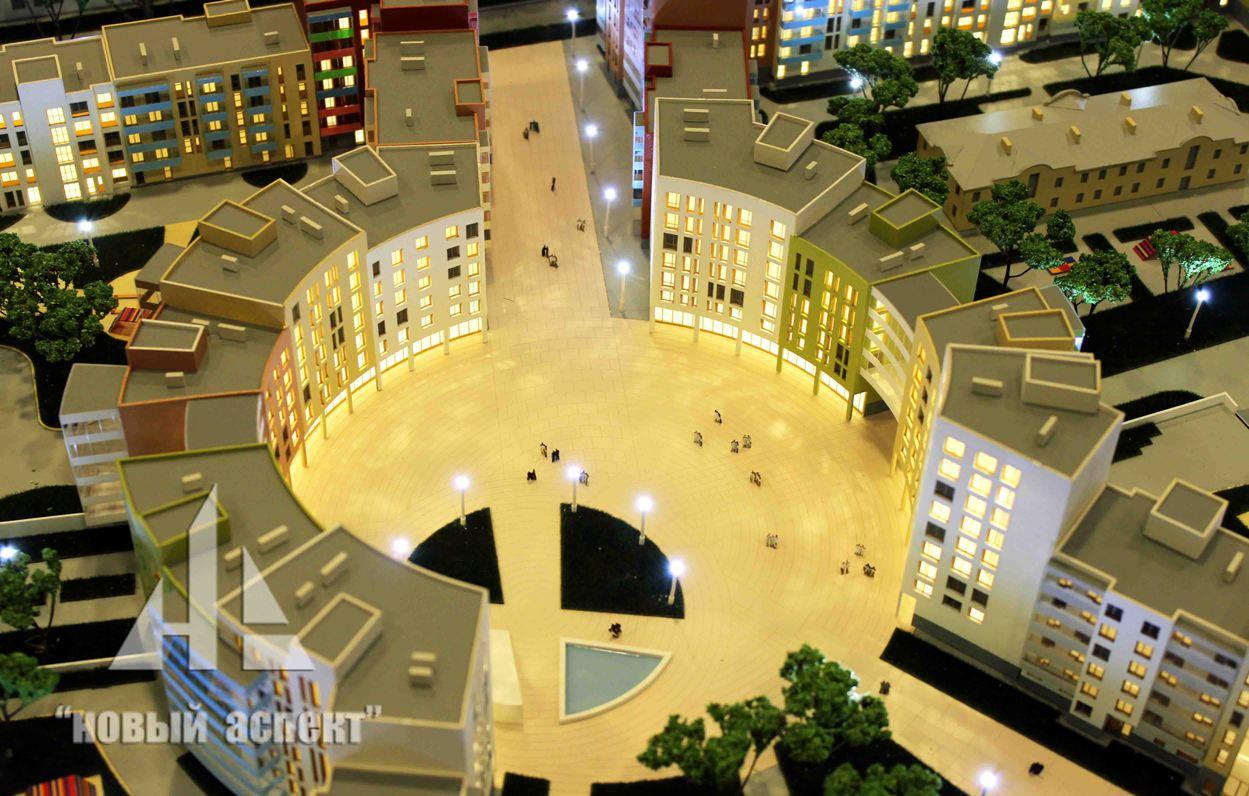 Макеты жилых домов и комплексов, Астрид (4)