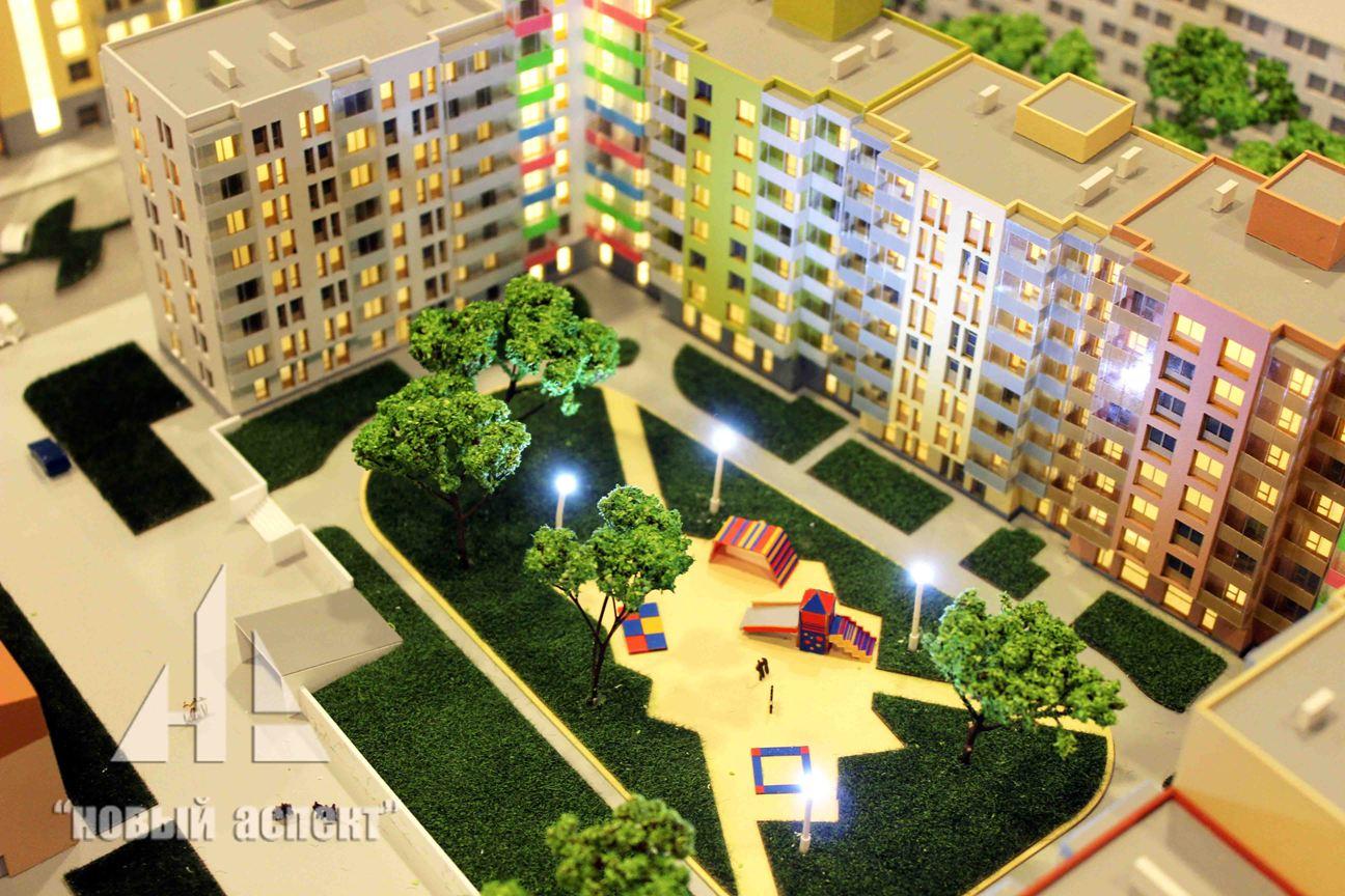 Макеты жилых домов и комплексов, Астрид (5)