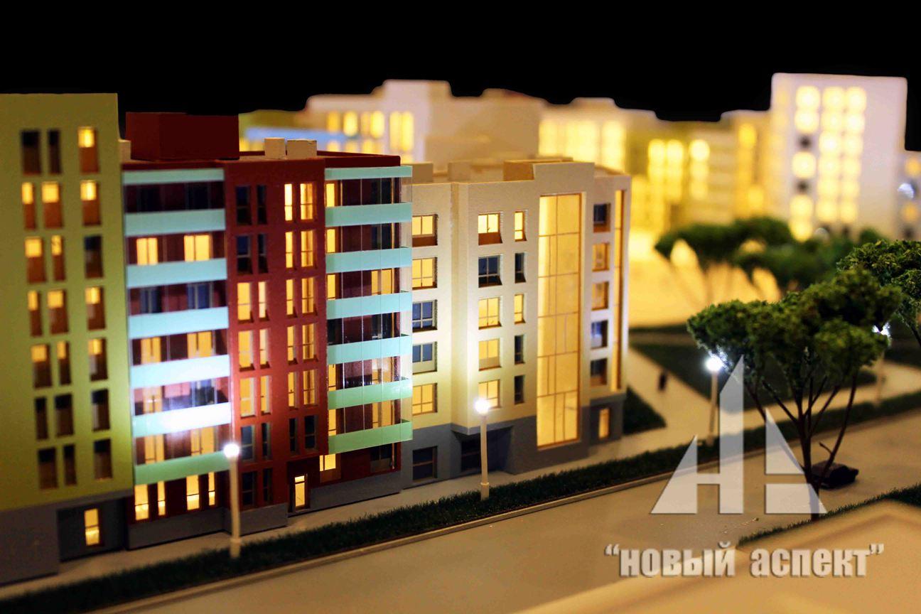 Макеты жилых домов и комплексов, Астрид (8)