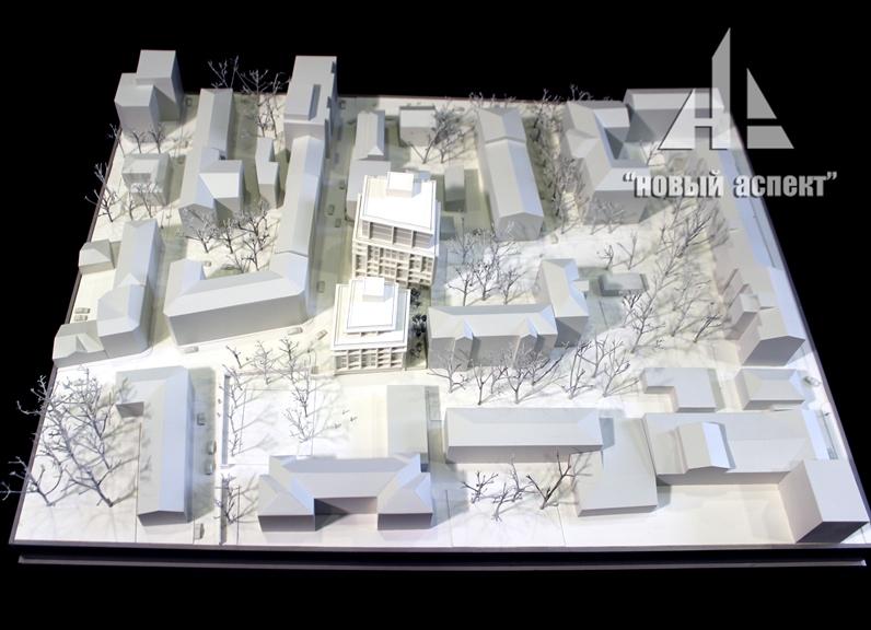 Градостроительные макеты, Б.Палашевский (1)