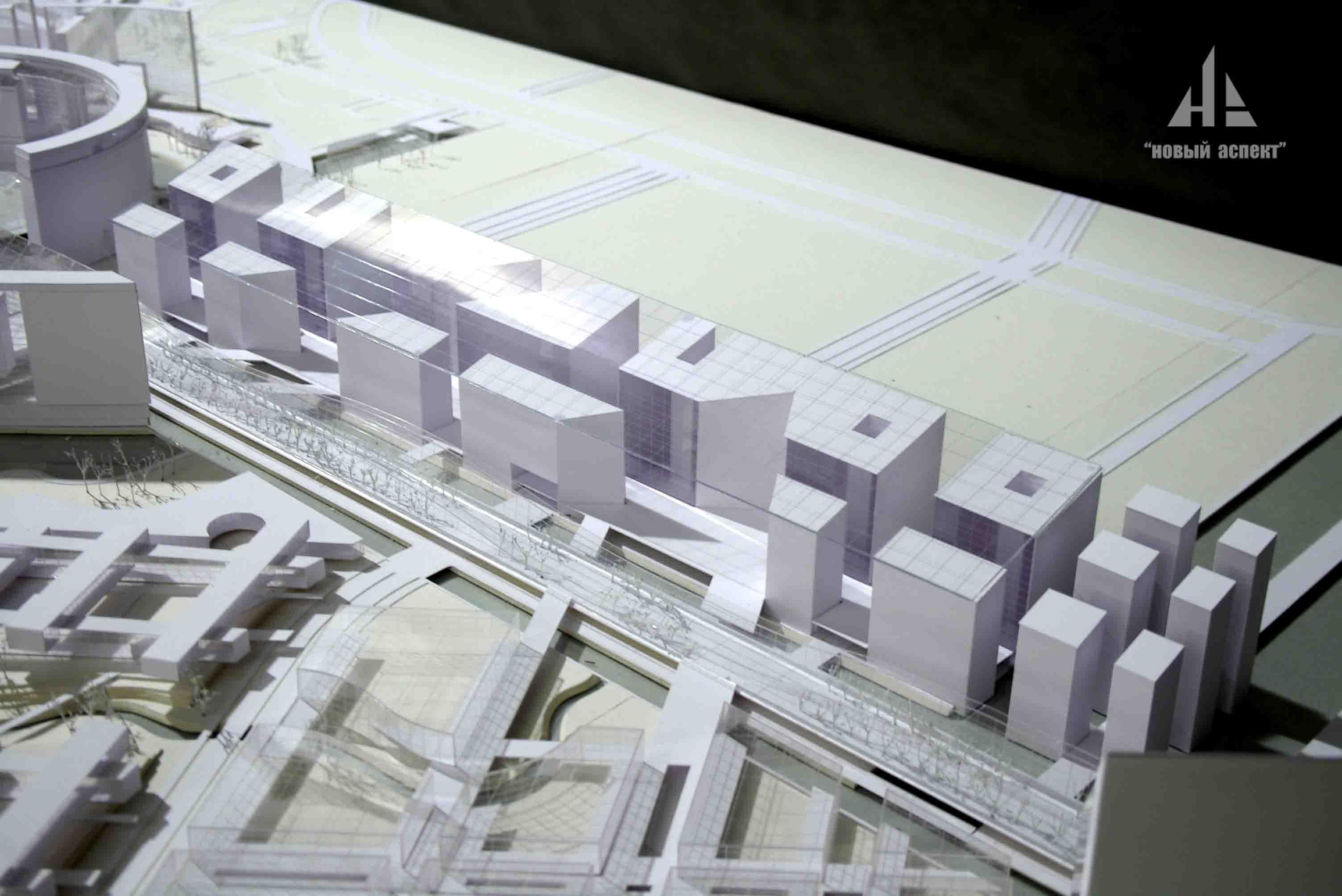 Градостроительные макеты, Балтийская Жемчужина (3)