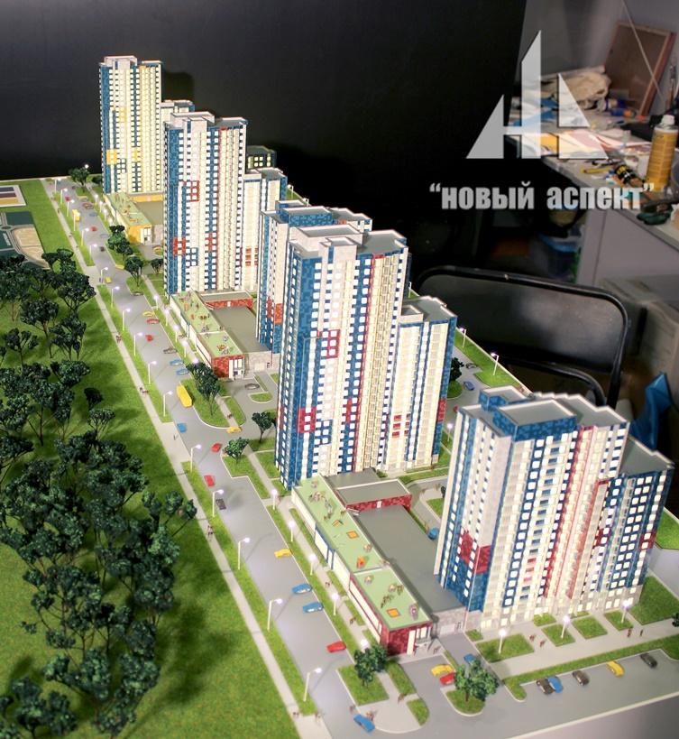 Макеты жилых домов и комплексов, Белые Ночи (2)
