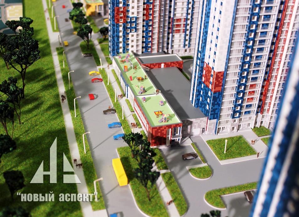 Макеты жилых домов и комплексов, Белые Ночи (4)