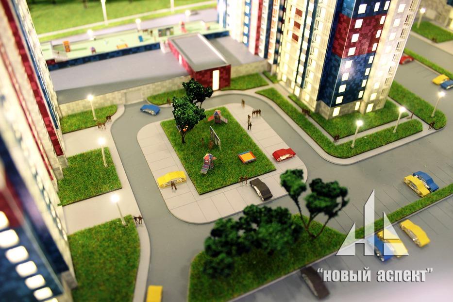 Макеты жилых домов и комплексов, Белые Ночи (6)