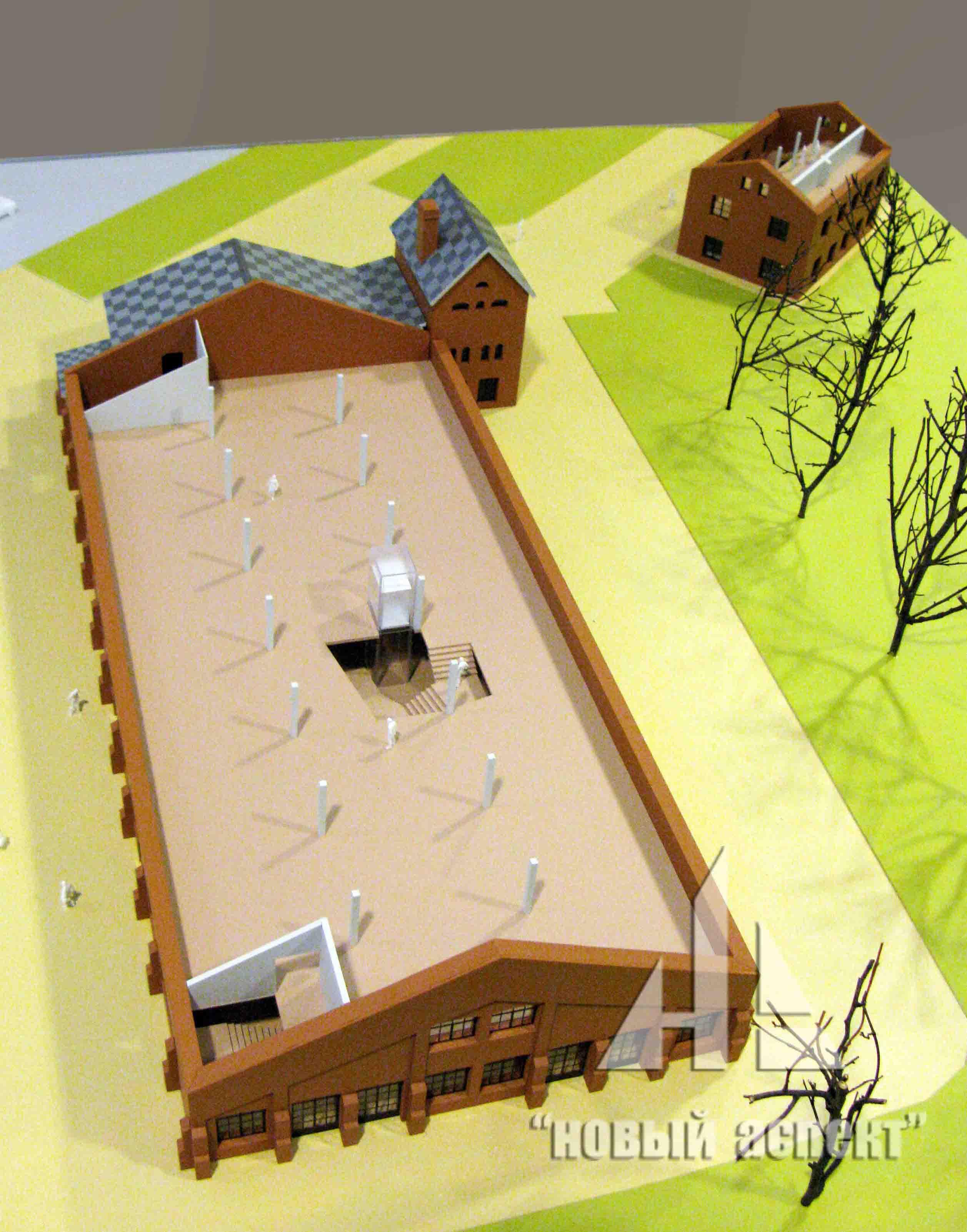 Макеты общественных зданий Дачи Бенуа Хоз (4)