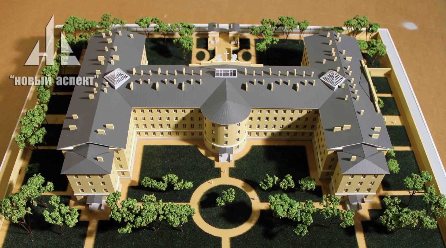 Макеты общественных зданий, Больница Пряжка (2)