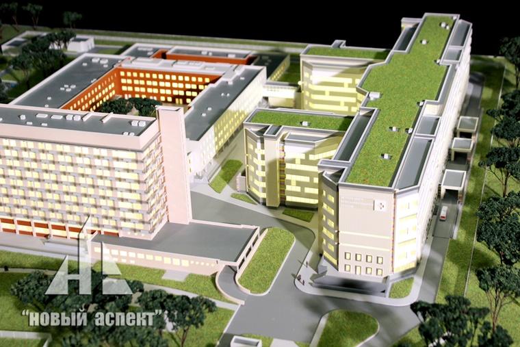 Макеты общественных зданий ДГБ1 (3)