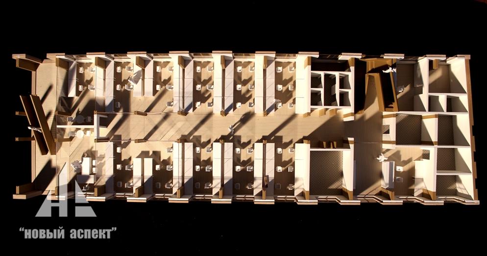 Макеты общественных зданий Дом Хвоя (2)