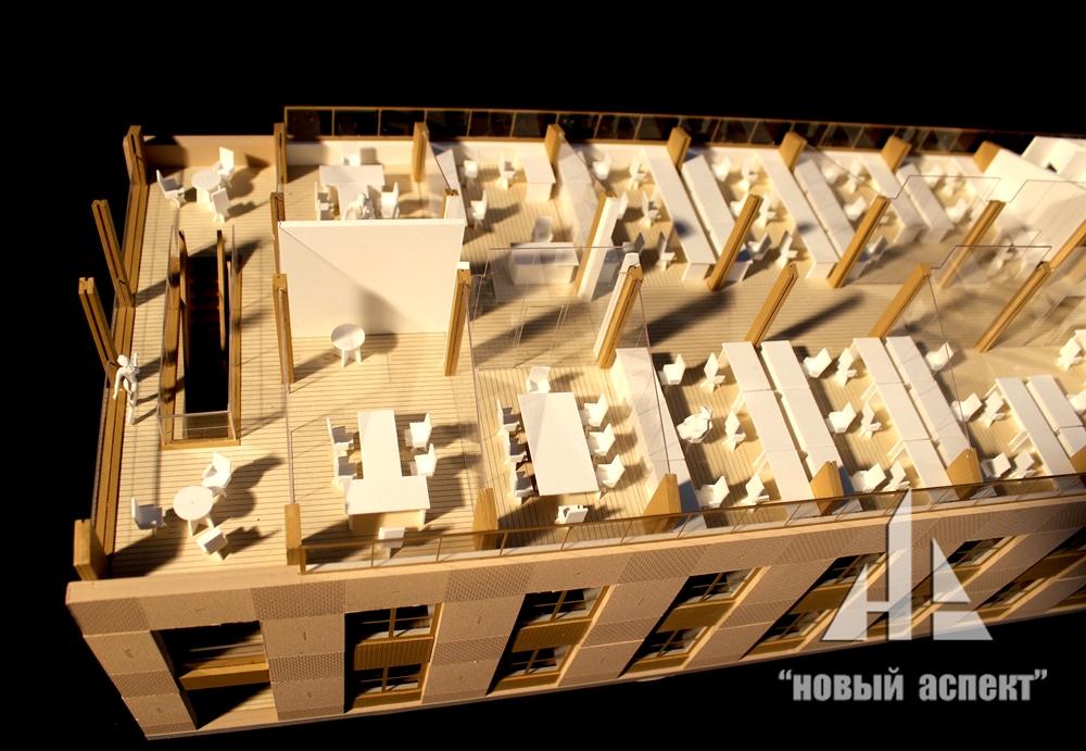 Макеты общественных зданий Дом Хвоя (3)