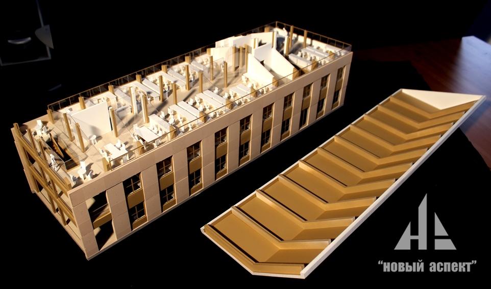 Макеты общественных зданий Дом Хвоя (4)