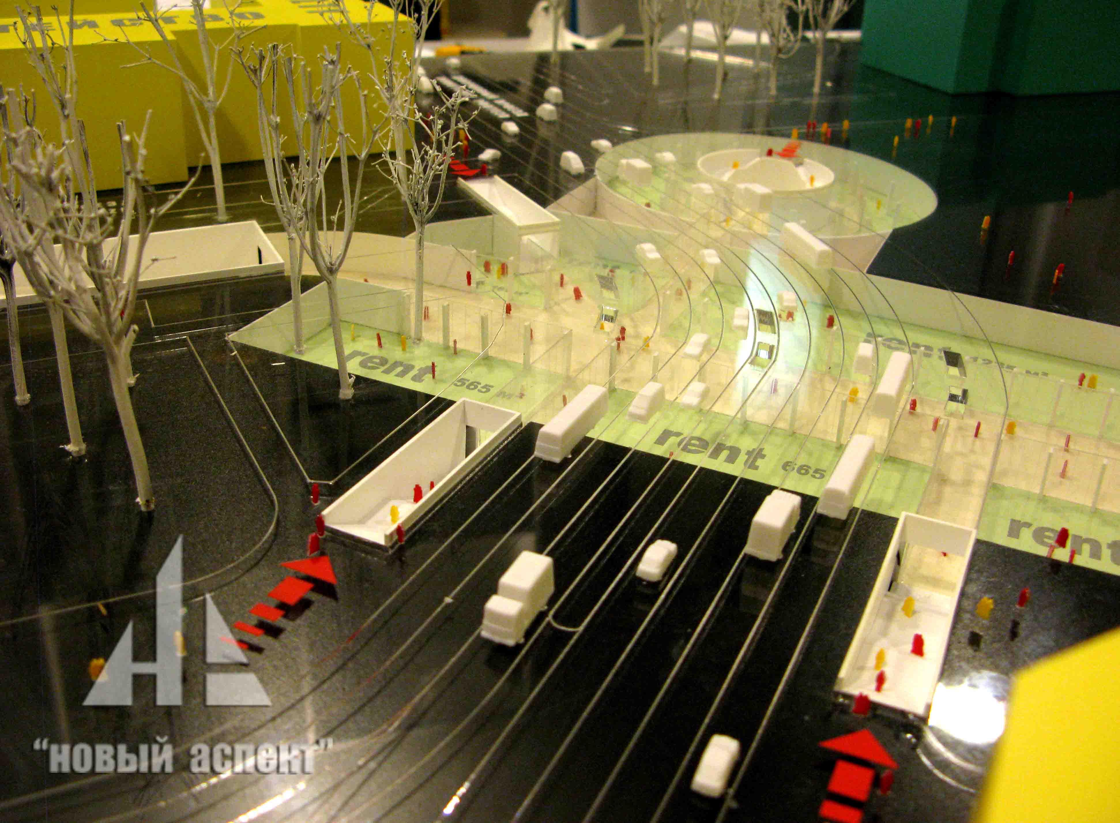 Градостроительные макеты, Дворцовая площадь (5)