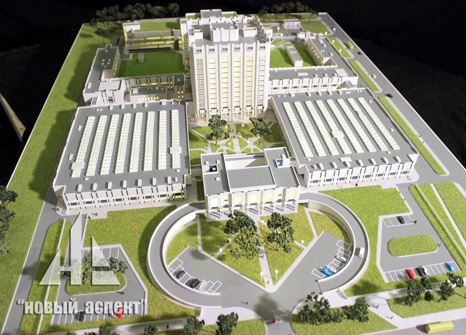Макеты общественных зданий Джанелидзе (1)