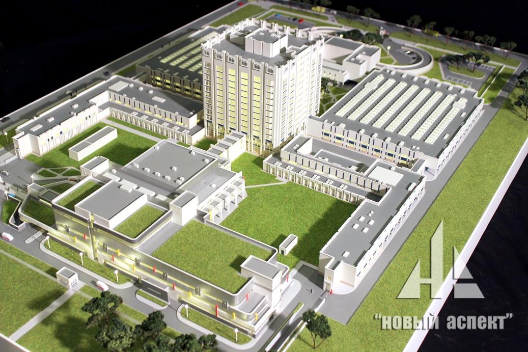 Макеты общественных зданий Джанелидзе (2)