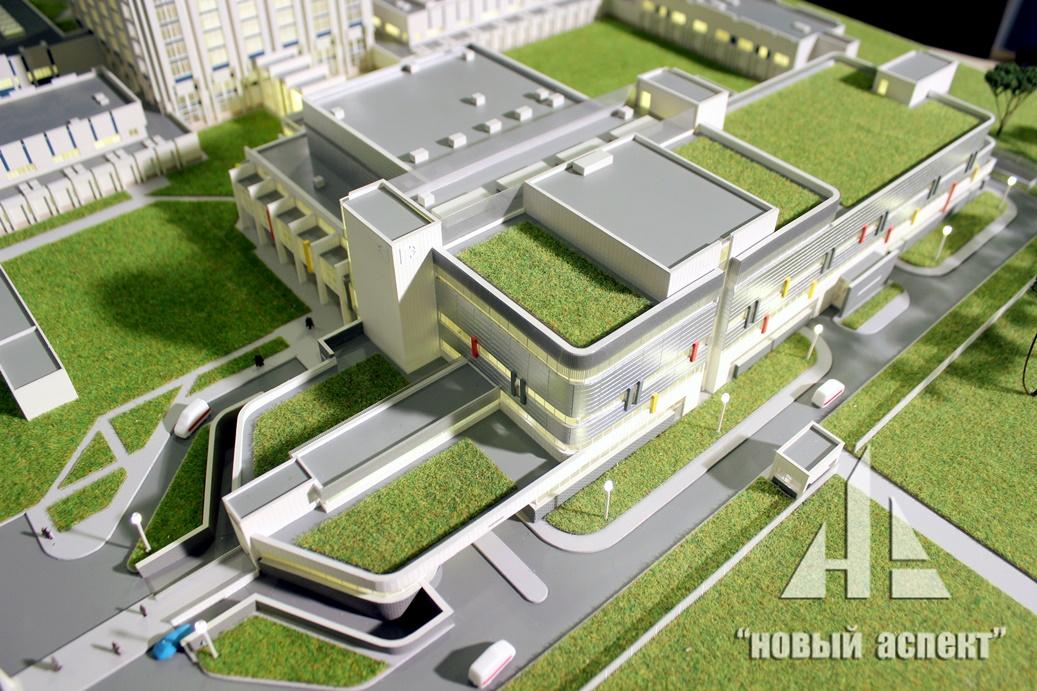 Макеты общественных зданий Джанелидзе (3)