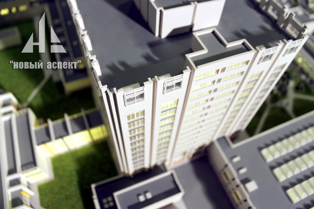 Макеты общественных зданий Джанелидзе (4)