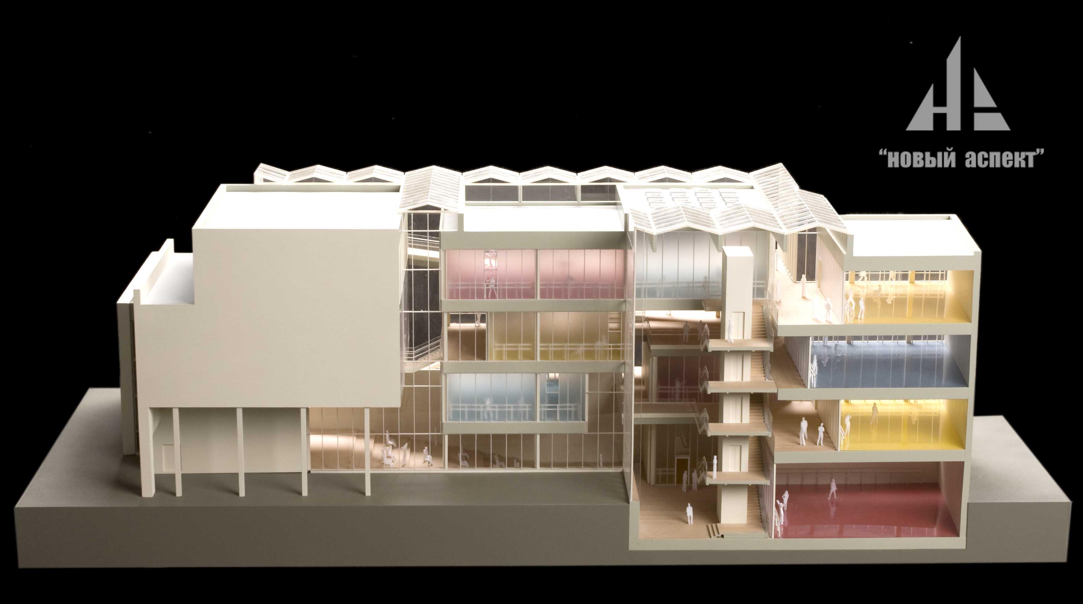 Макеты общественных зданий, Эйфман (1)