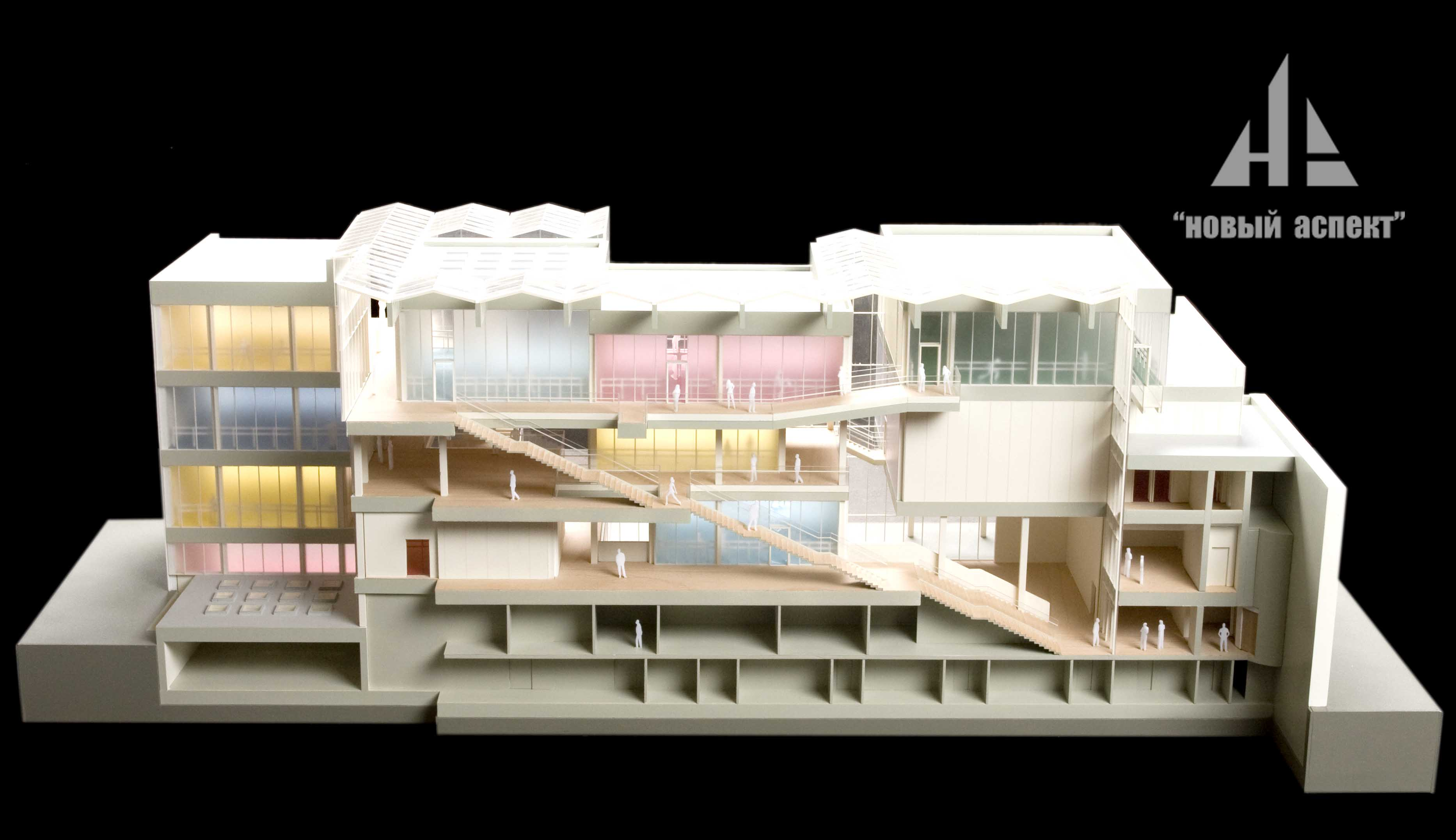 Макеты общественных зданий, Эйфман (4)