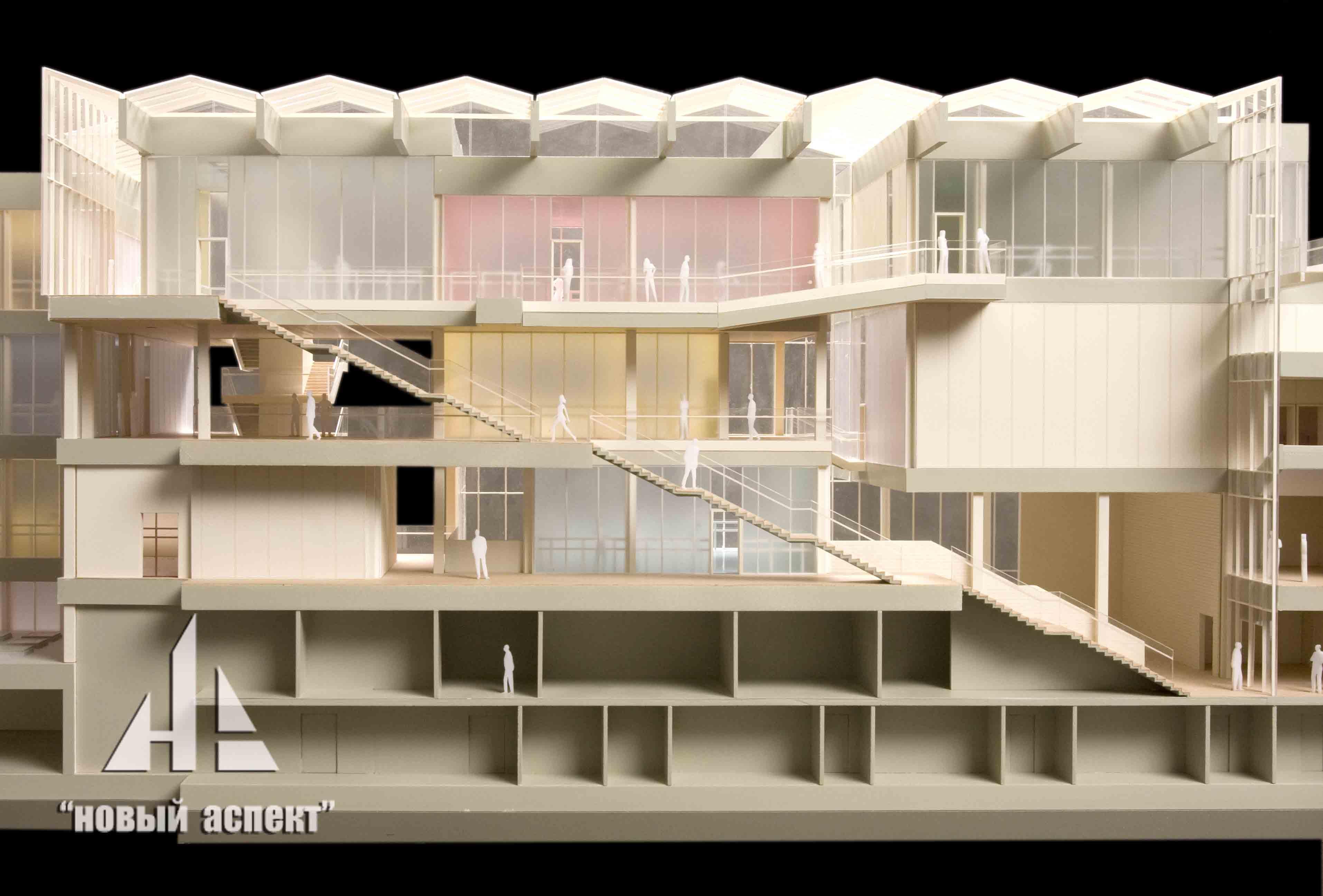 Макеты общественных зданий, Эйфман (5)