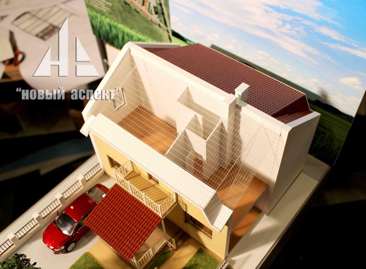 Макеты жилых домов и комплексов Есенин Village (5)