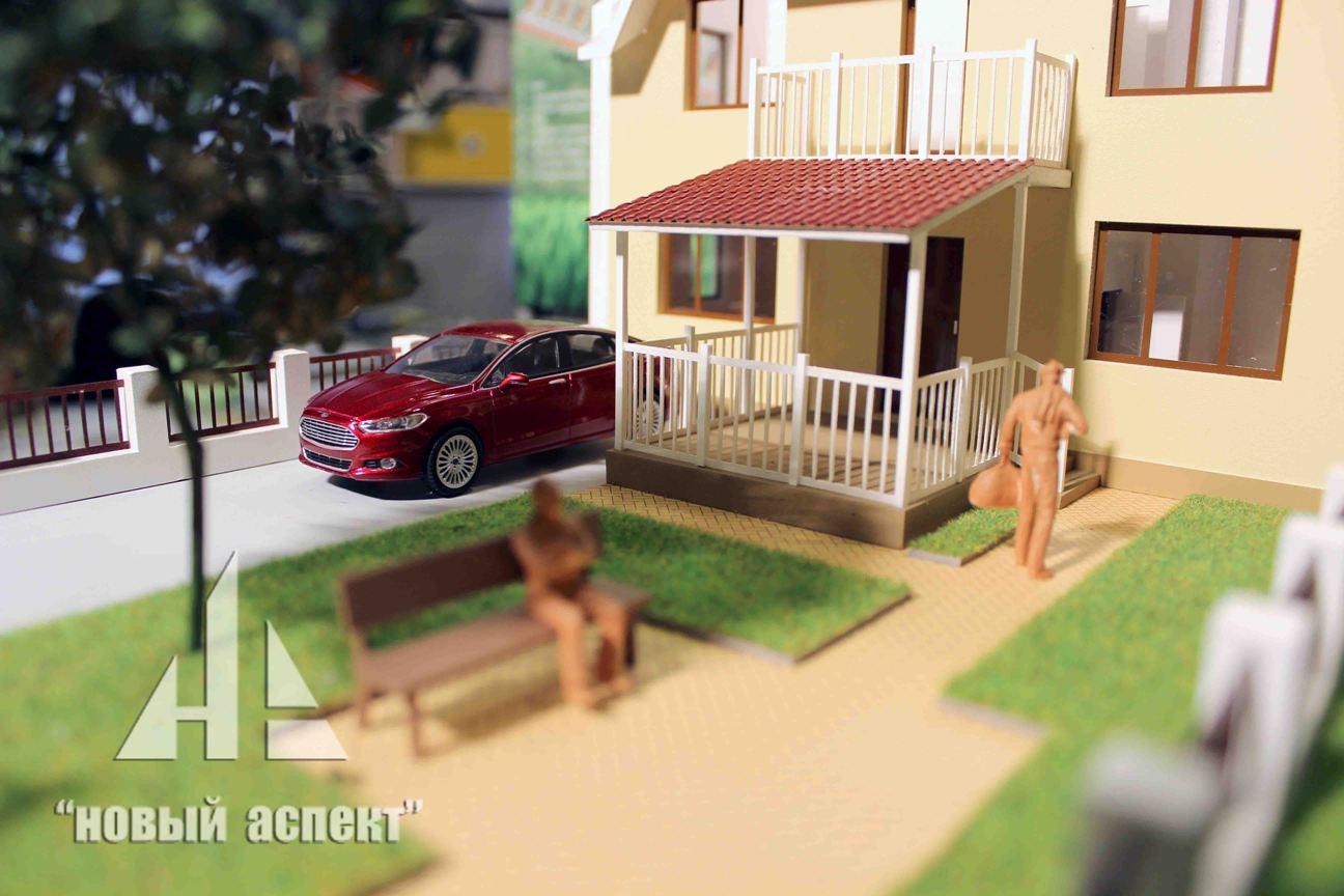 Макеты жилых домов и комплексов Есенин Village (6)