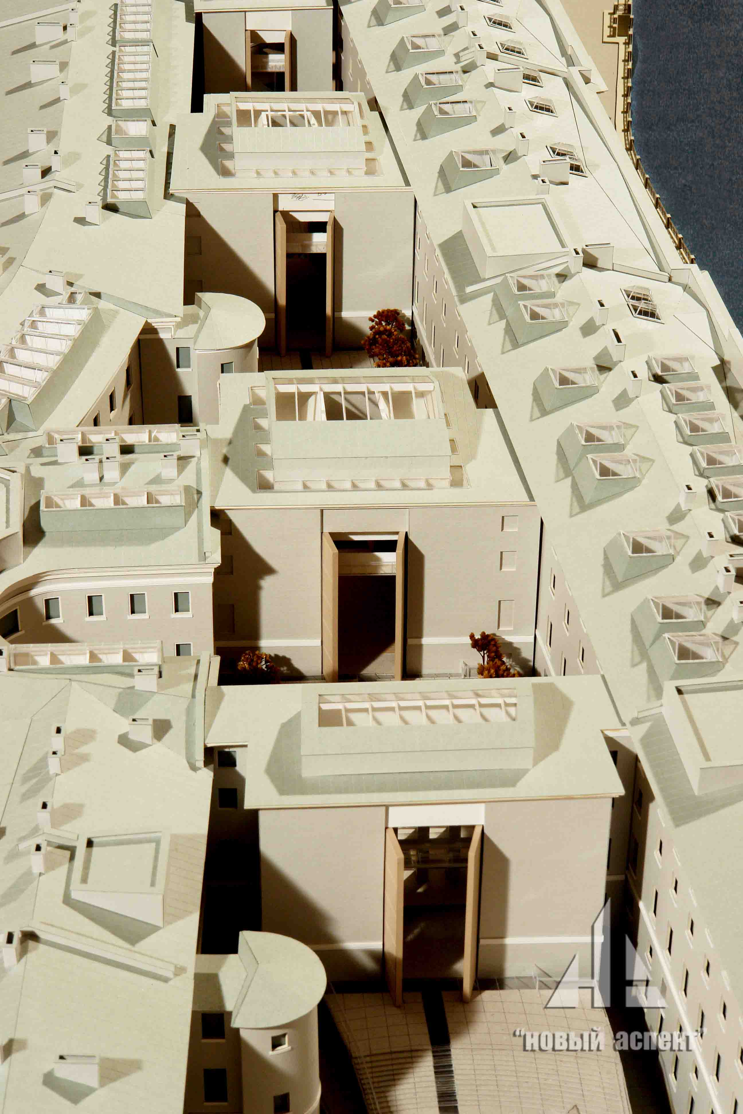 Макеты общественных зданий, ГЛШ (2)