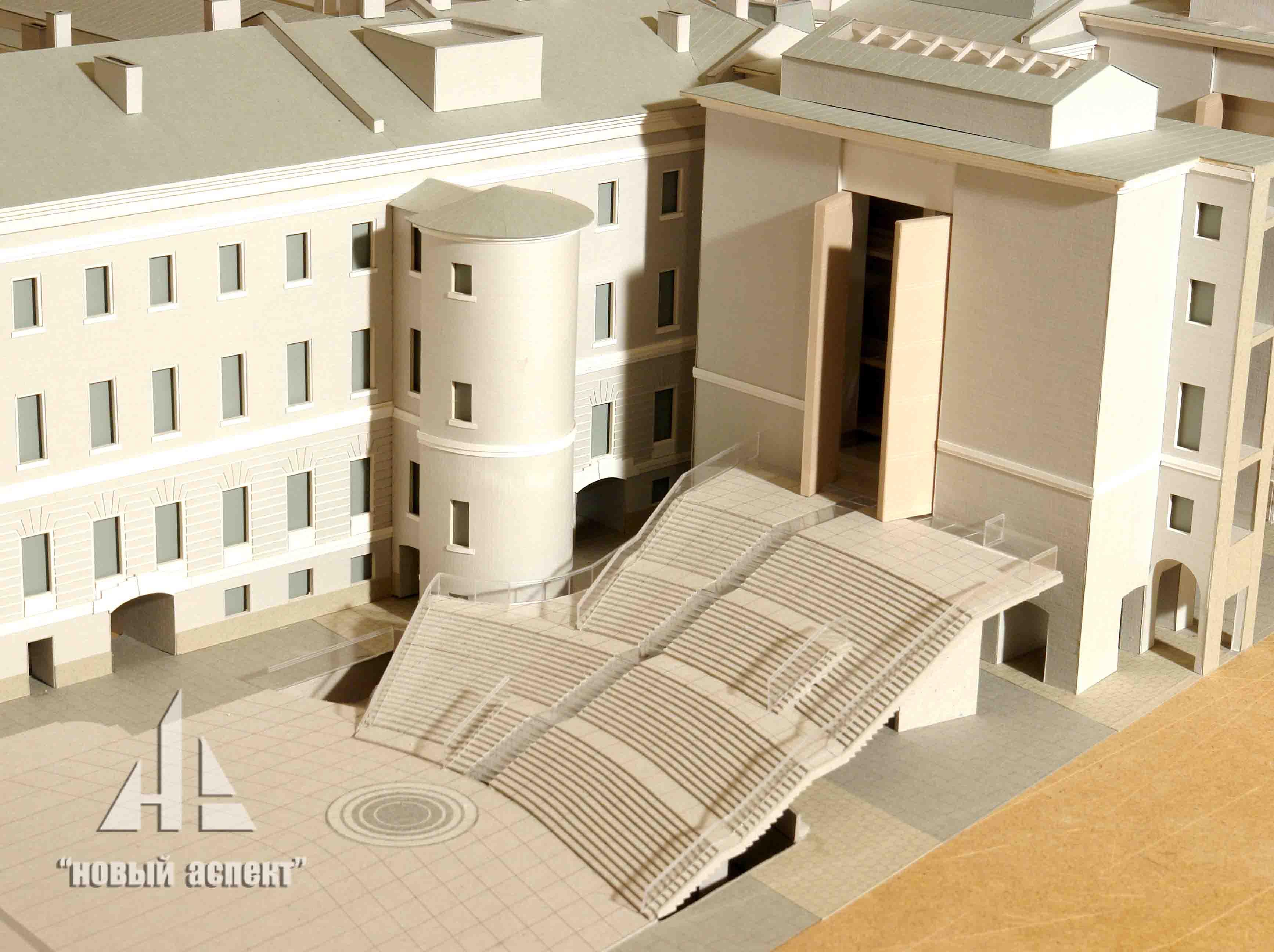 Макеты общественных зданий, ГЛШ (3)