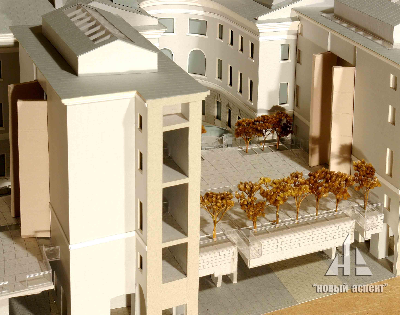Макеты общественных зданий, ГЛШ (4)