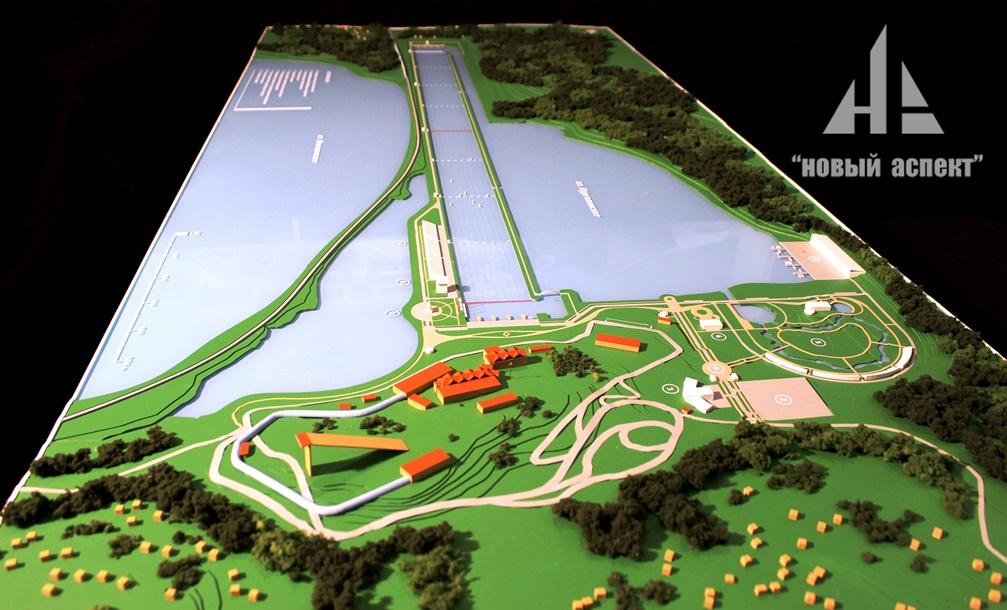 Градостроительные макеты, Гребной Канал (1)