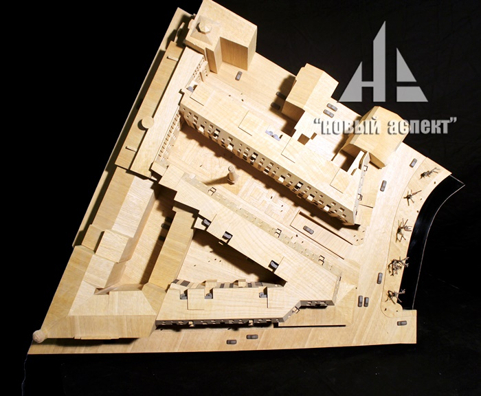 Макеты из дерева Карповка Дуб (1)