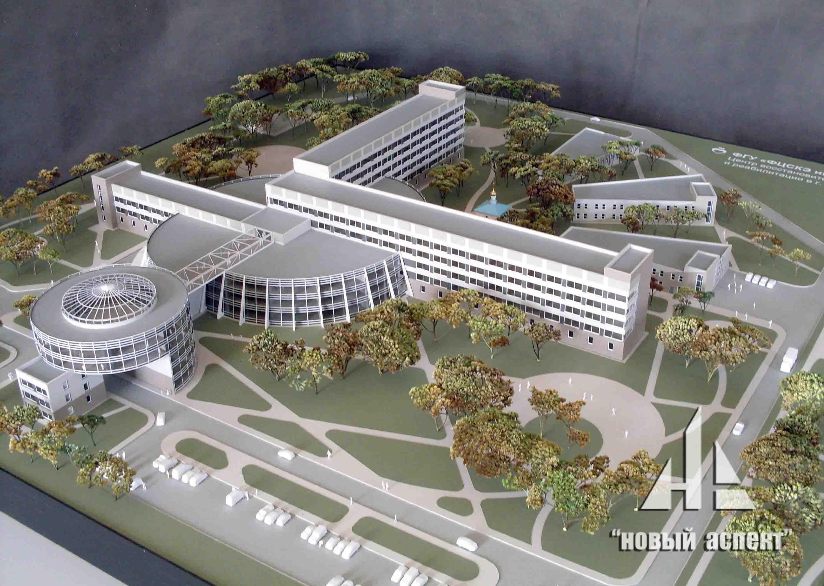 Макеты общественных зданий Кировск (1)