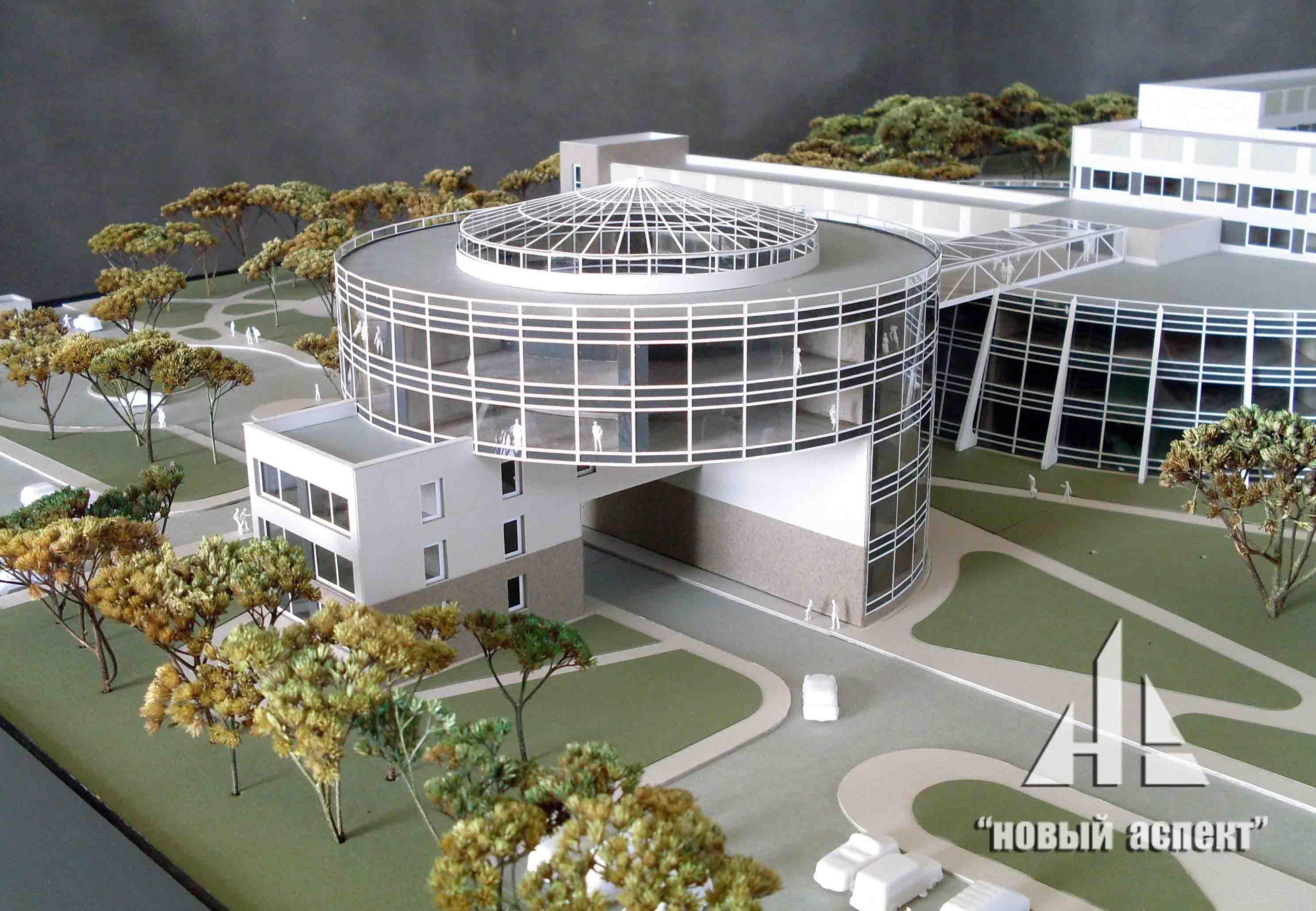 Макеты общественных зданий Кировск (2)