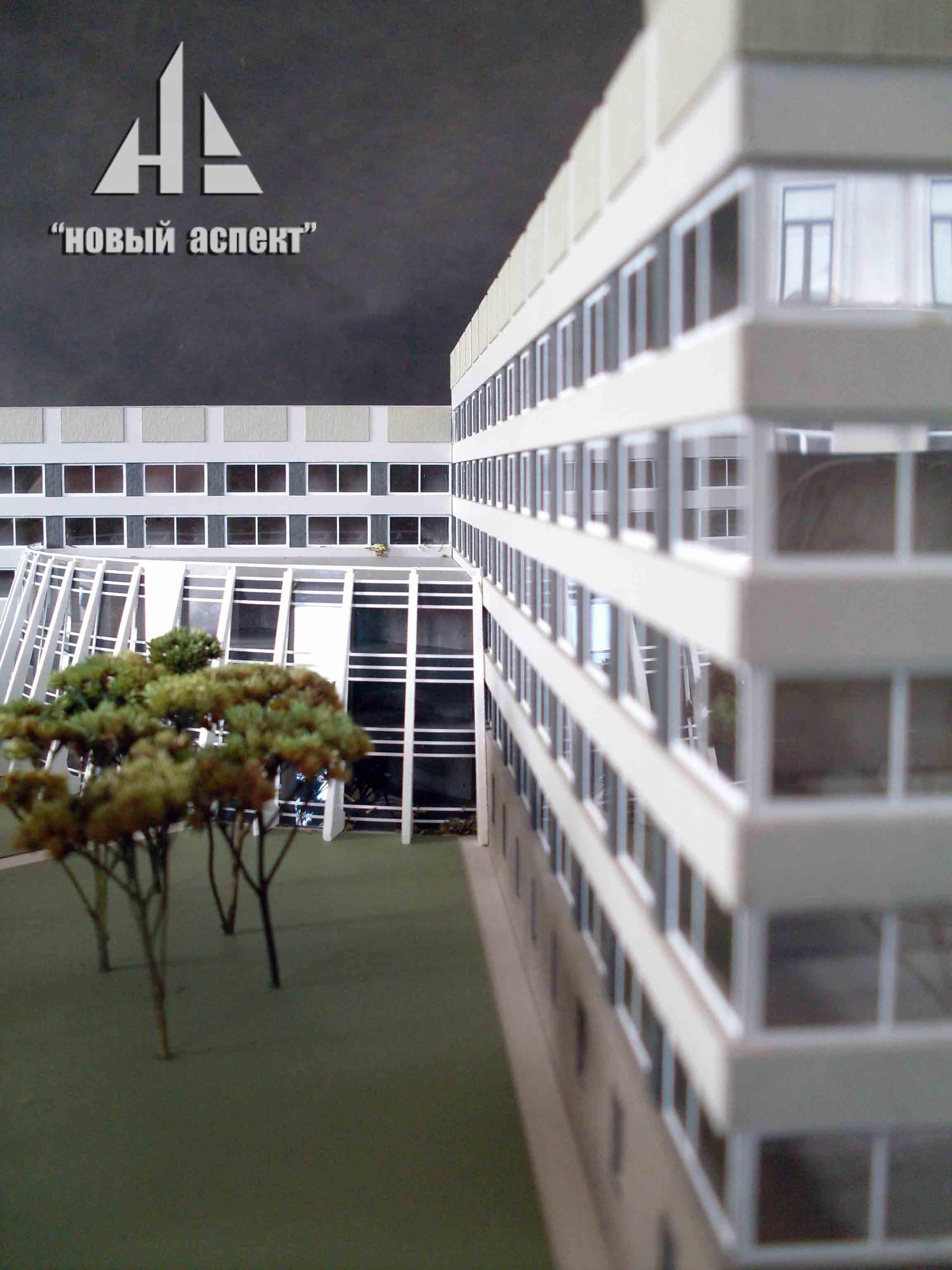 Макеты общественных зданий Кировск (3)