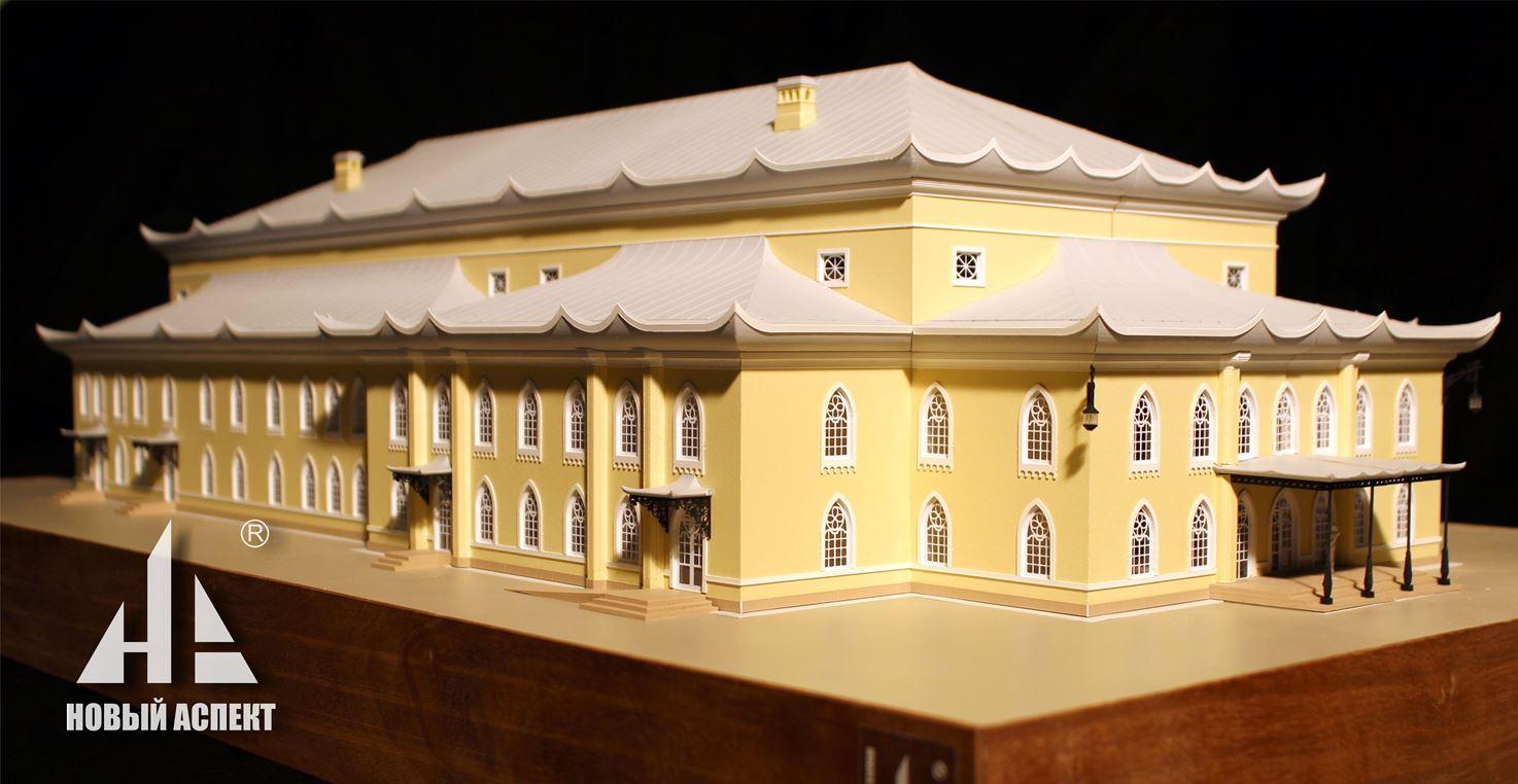 Макеты общественных зданий Китайский Театр (1)