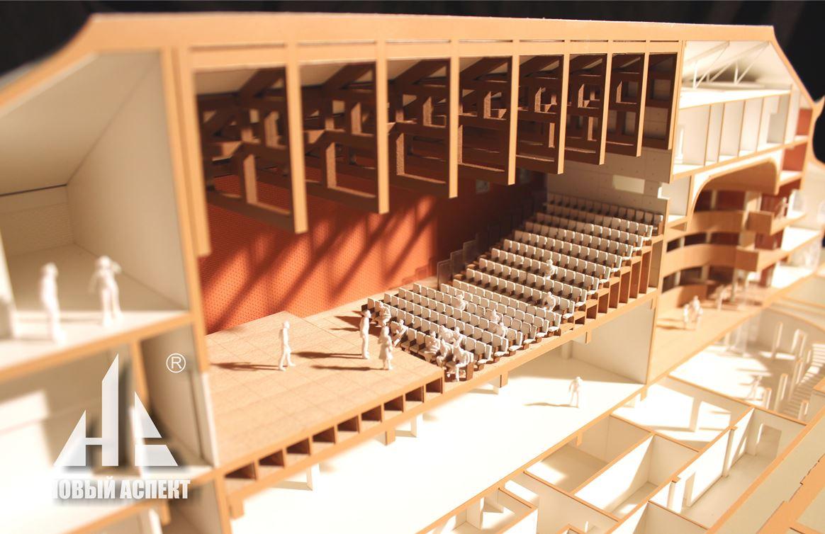 Макеты общественных зданий Китайский Театр (3)