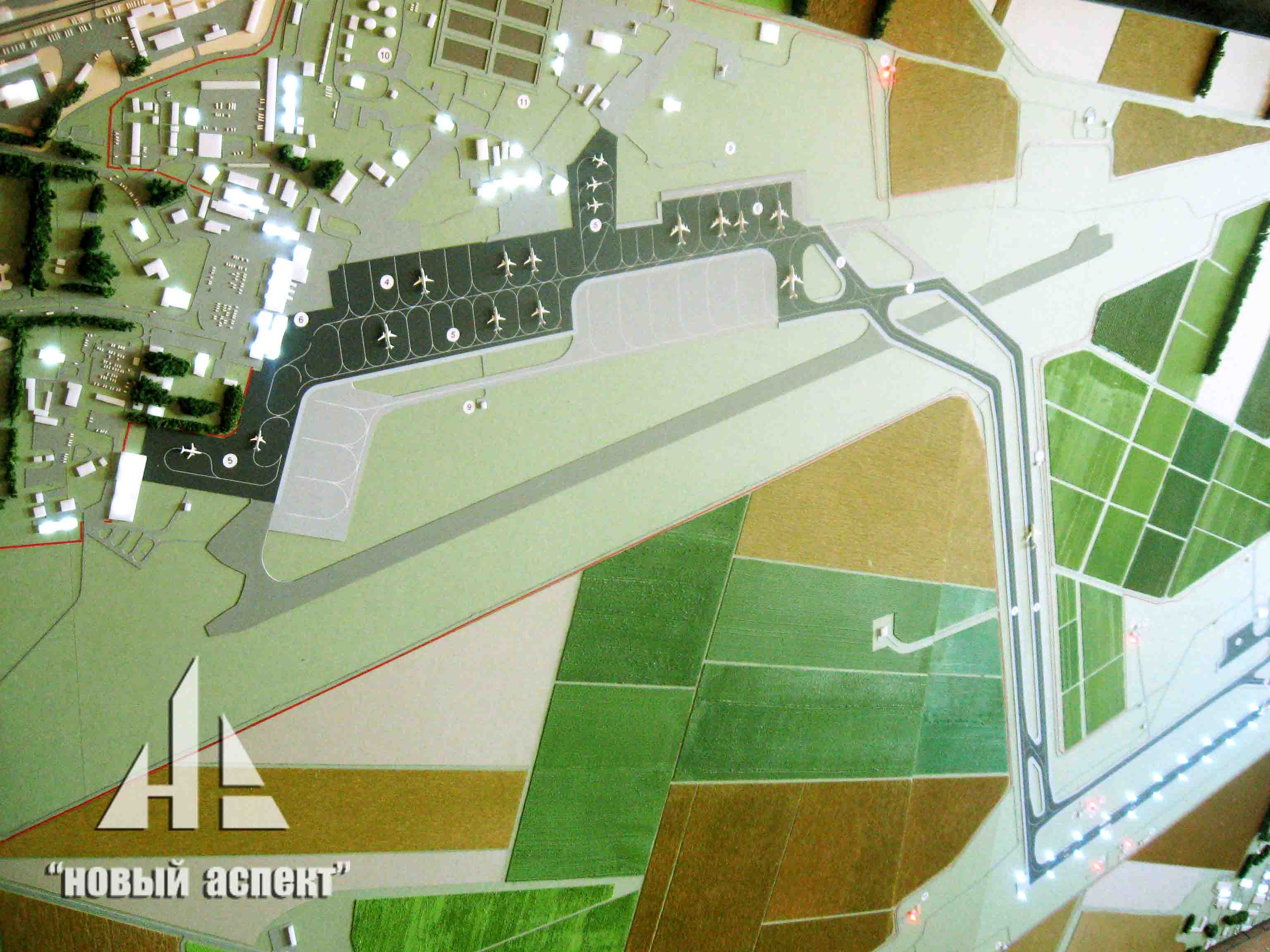 Градостроительные макеты, Краснодар (6)